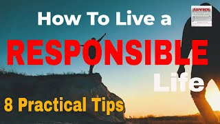 Download RESPONSIBILITY: How to Live a Responsible Life - 8 Practical Tips🙂