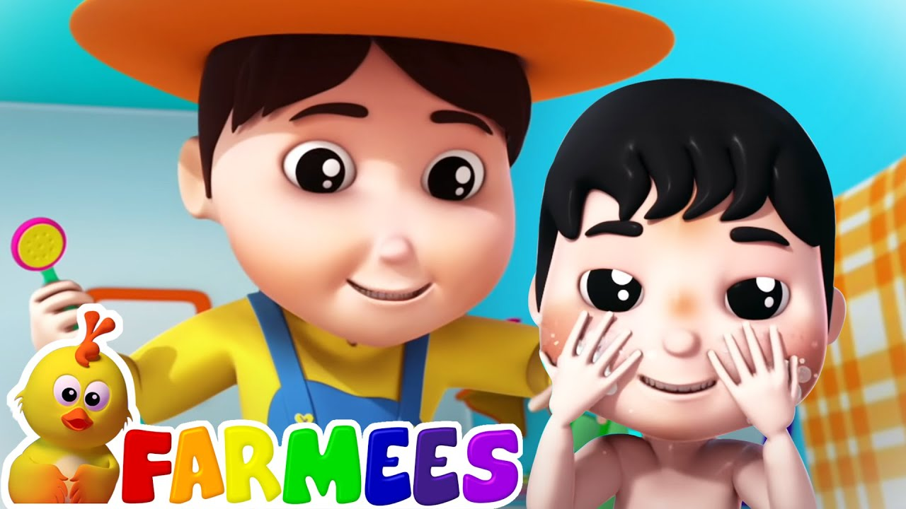 การอาบน้ำ เพลง | เพลง สำหรับ เด็ก | เนอ สเซอรี่ ไรม์ | Farmees Thailand | การศีกษาสำหรับเด็ก