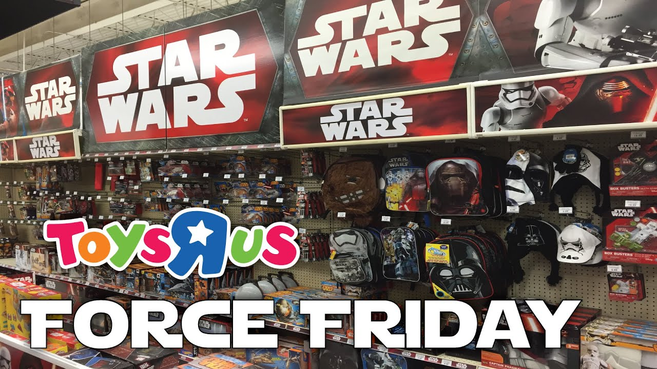 Toys Are Us Star Wars : Force friday midnight shopping at toys r us star wars the