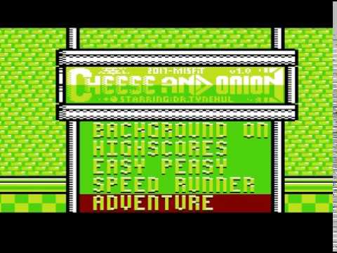 VIC-20 Cartridge Game : Cheese & Onion