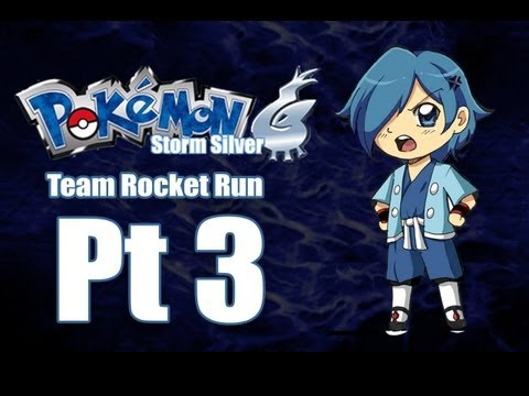 Pokemon Storm Silver - Team Rocket Run Pt 3: Falkner is OP! Also  EVOLUTION!