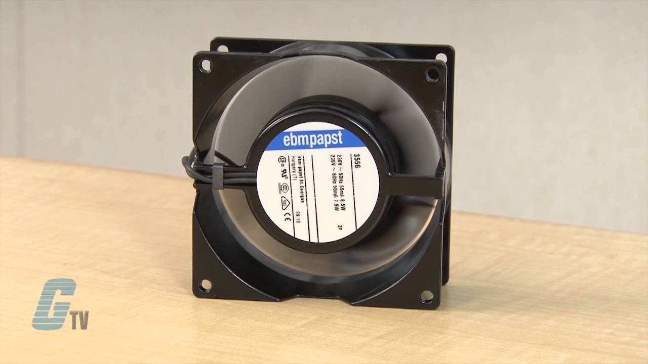 ebm papst ac input square series axial fans [ 1280 x 720 Pixel ]