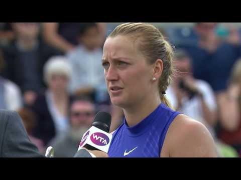 Petra Kvitova 2017 Aegon Classic Final Speech