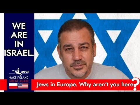 Harel Noff calling the Jews of Europe to come back to Israel