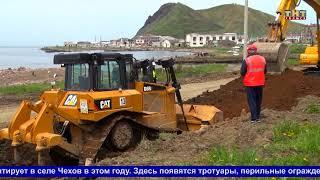 Капитальный ремонт дороги проходит в Чехове
