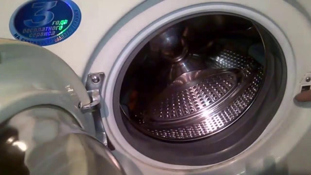 Как разобрать стиральную машину Самсунг. Снять переднюю панель