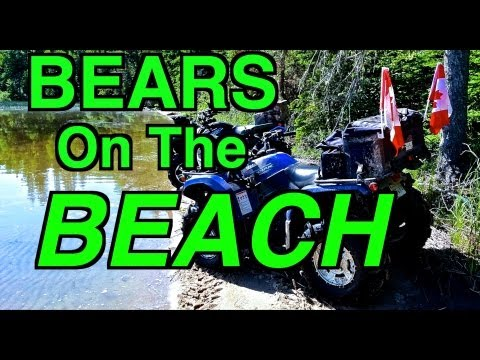 ATV Ride on the Yamaha's-Hoping to Find The Secret Beach-July 1, 2013