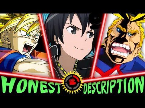 Every MatPat Anime Film Theory - Honest Anime Descriptions (ft Hero Academia, Attack on Titan etc)