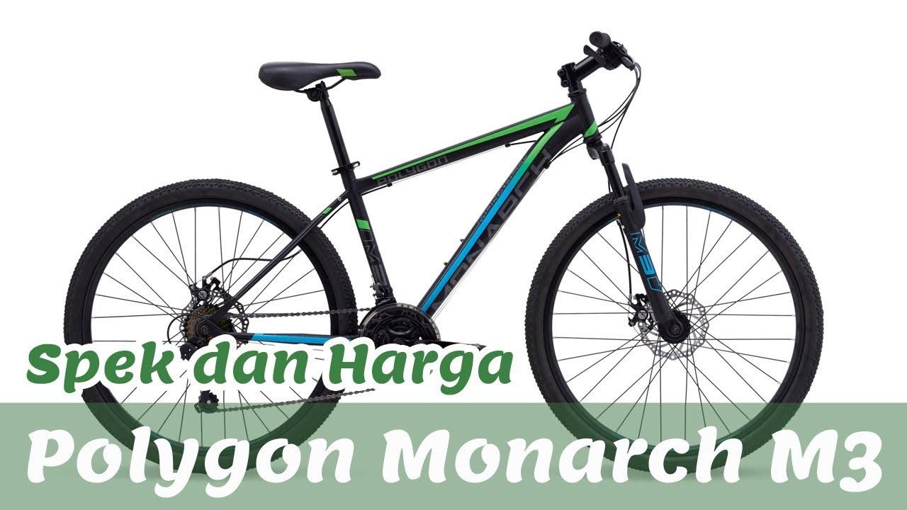 POLYGON MONARCH M3, SEPEDA GUNUNG 1 JUTAAN!!! - YouTube