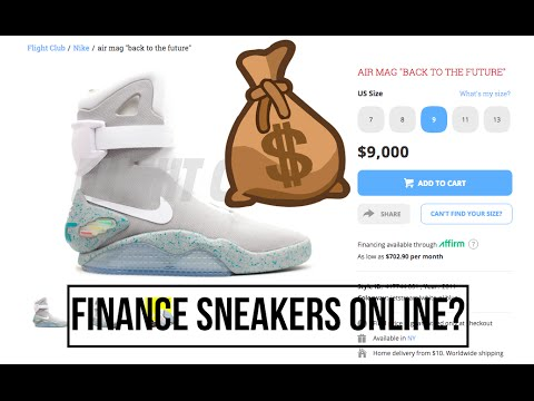 Finance Sneakers At Flight Club?! Gone Too Far?