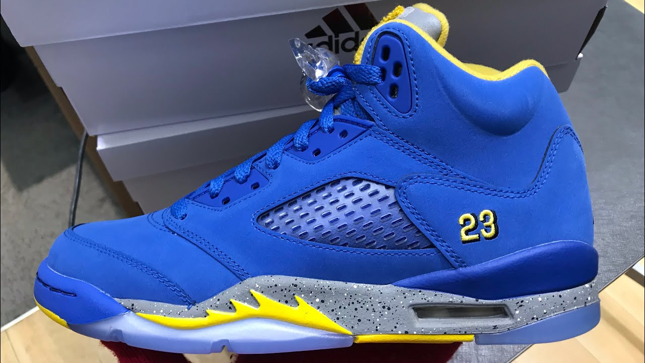 super especiales minorista online colores delicados FAKE SNEAKER YOUTUBERS/ EARLY 2019 AIR JORDAN 5 LANEY *JSP* PRE ...