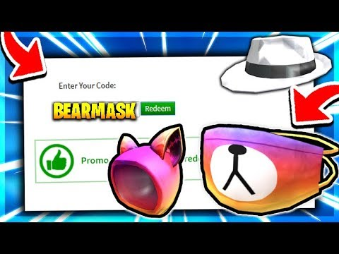 Bear Mask All 4 Secret Roblox Promo Code Roblox 2020 Working