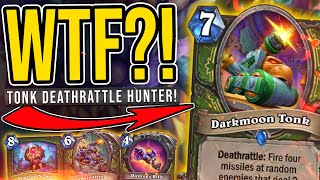 The BEST Deck I've Tried So Far - 90% Winrate Deathrattle TONK Hunter - Darkmoon Faire - Hearthstone