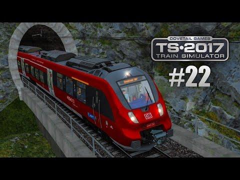 Train Simulator 2017 #22: DB BR 442 auf der MITTENWALDBAHN angekommen in Innsbruck! I Talent 2