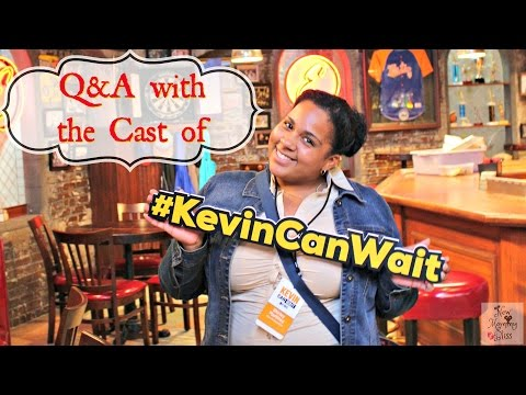 Q&A with Cast Of #KevinCanWait , Kevin James and Erinn Hayes!