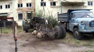 Tatra 815-posledná jazda.Maťo posledný pilot