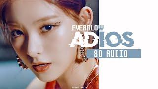 EVERGLOW (에버글로우) - Adios [8D AUDIO USE HEADPHONES 🎧]