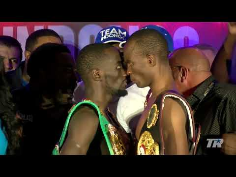 Terence Crawford Vs. Julius Indongo Wild And Crazy Staredown