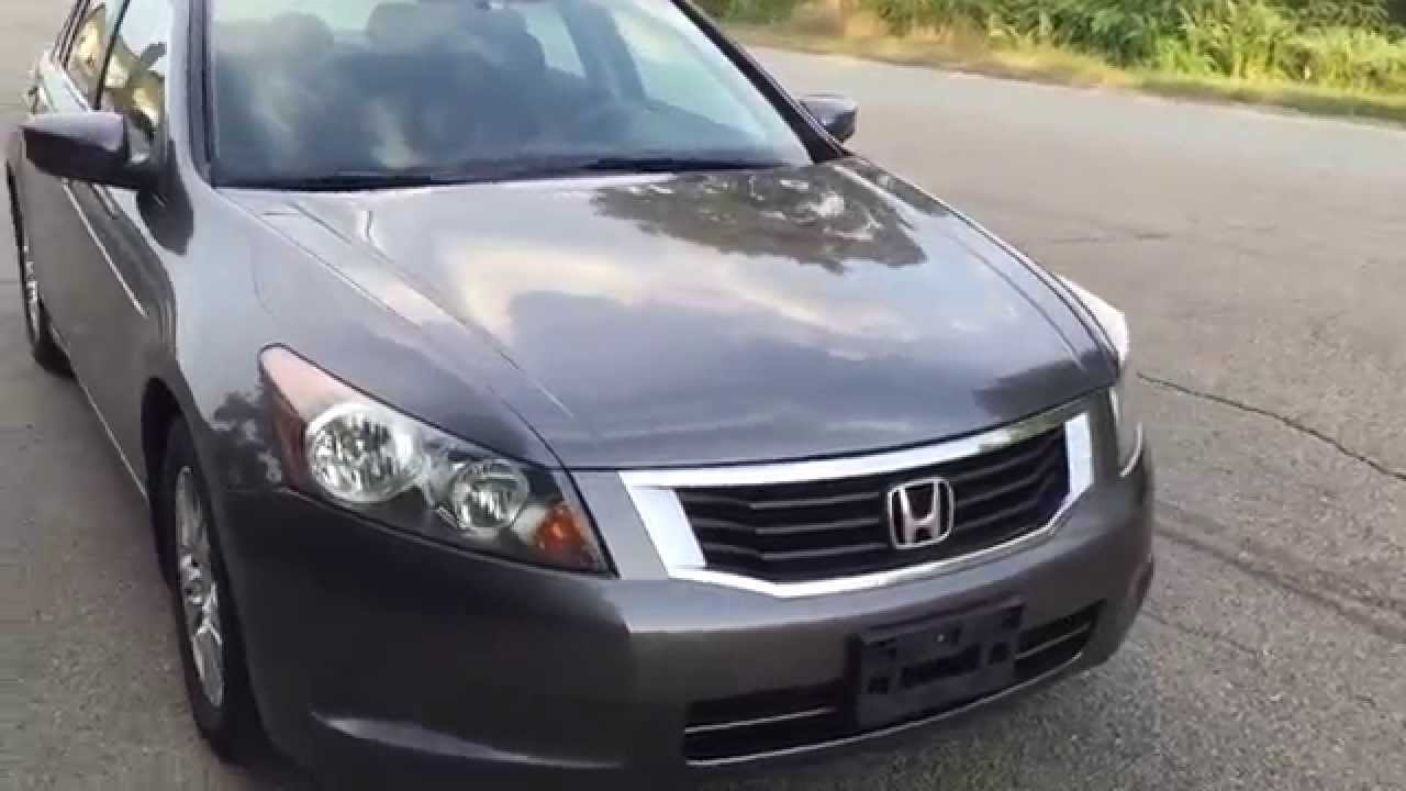 2009 honda accord lx 5 speed manual nice car youtube. Black Bedroom Furniture Sets. Home Design Ideas