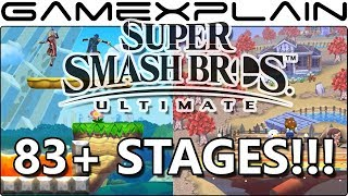 ANOTHER 8 Stages Found in Super Smash Bros. Ultimate! (An INSANE 83+ Total...So Far!)