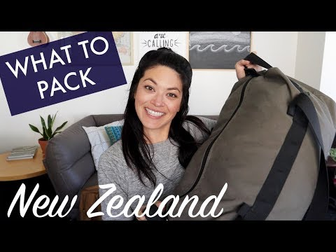 PACKING for a weekend VAN adventure // New Zealand