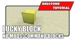 Lucky Block [No Mods/Command Blocks] (Xbox TU27/CU15 Playstation 1.18)
