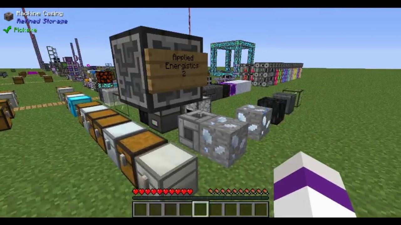 storage block refined storage