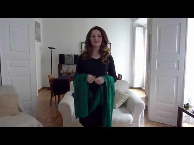 You Tube video http:/youtu.be/Gtg0D6OYvtM?a Hijab Tutorial Pashmina ...