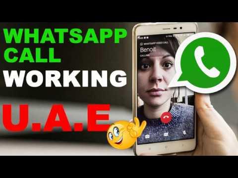 Whatsapp call working in UAE - How to make a whatsapp call واتساب