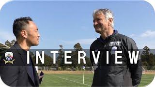 【FC岐阜】INTERVIEW ~FC岐阜アンバサダー難波宏明&ゼムノビッチ監督~