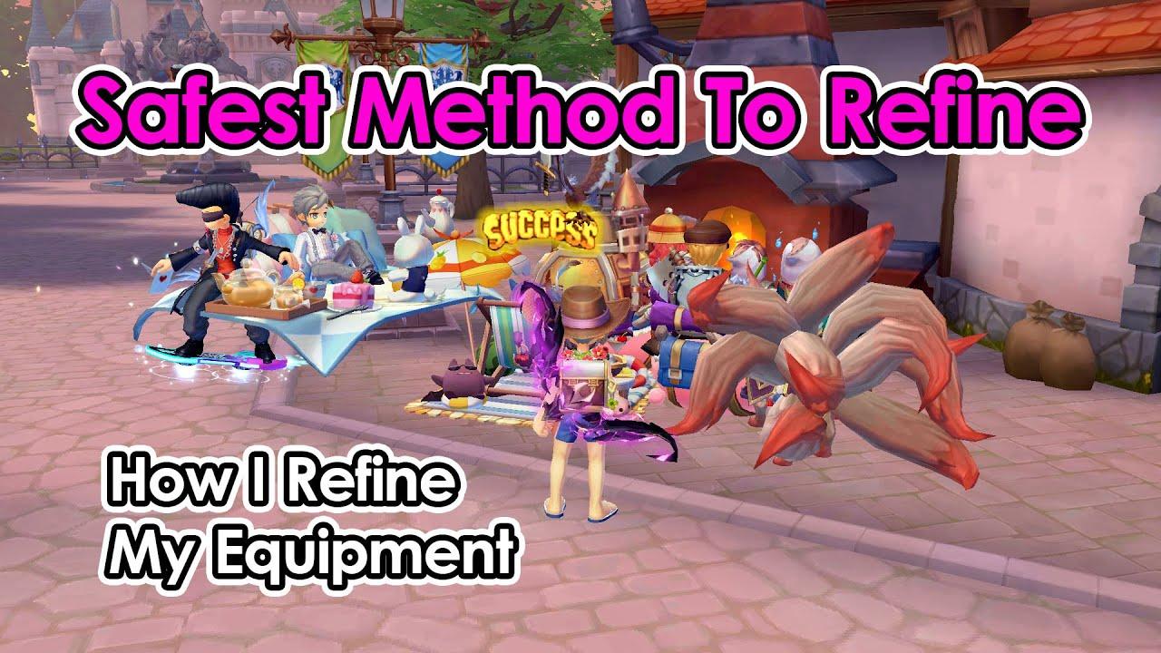 [ROX] Safest Method To Refine | How I Refine My Equipment | Ragnarok X Next Generation | King
