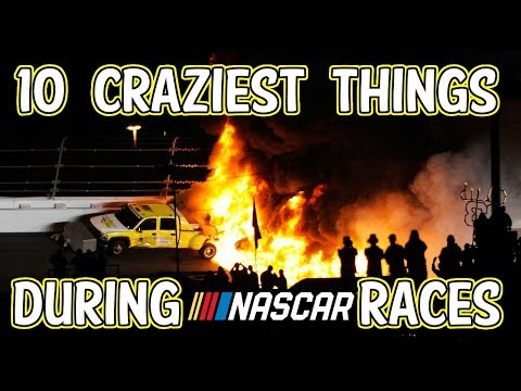 10 Craziest things that happened during NASCAR Races