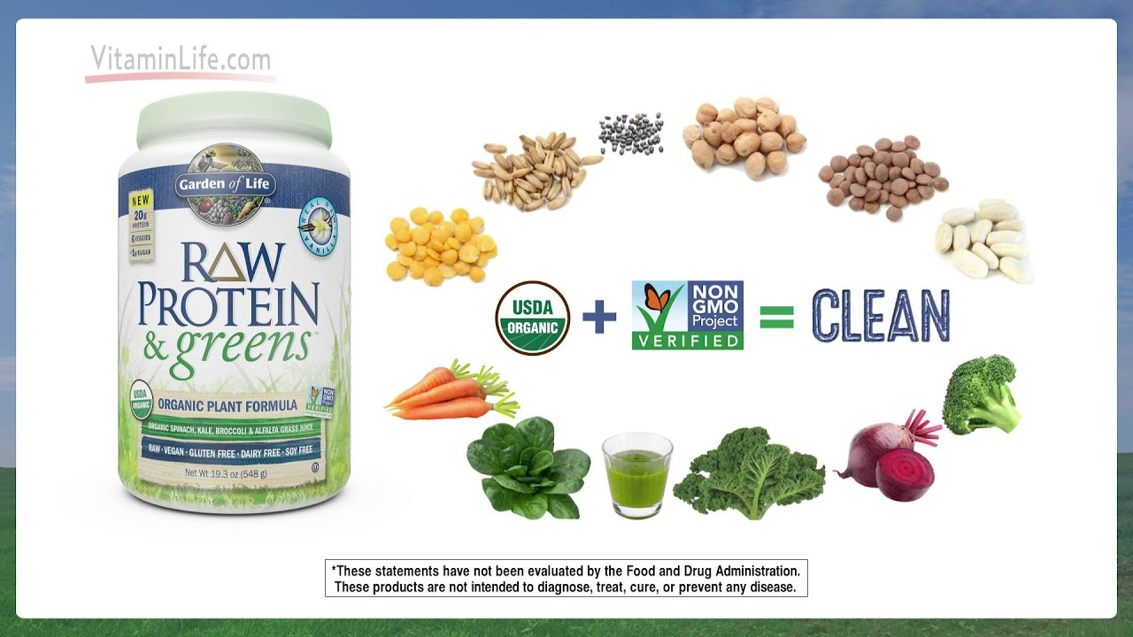 Garden Of Life Raw Protein And Greens Youtube