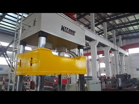 Y27-800 ton hydraulic press  four-column single-action hydraulic drawing -krrass