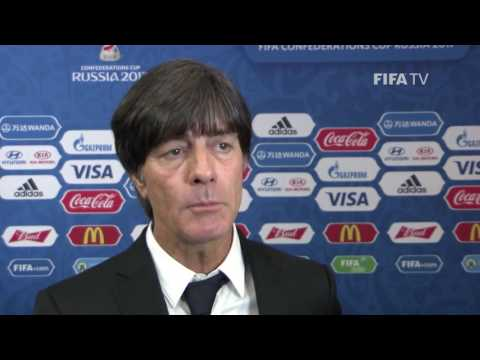 Joachim Löw reaction to FIFA Confederations Cup Official Draw