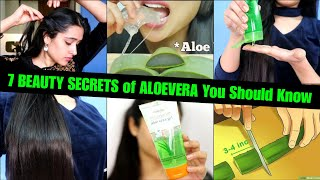 7 Winter Aloevera Beauty Hacks for Face & Hair | Get Clear, Glowing Skin See the Difference
