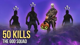 50 KILLS! WORLD RECORD! w/ Grimmmz, CaMiLLs, & CDNThe3rd (Fortnite)