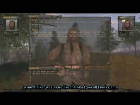 S.T.A.L.K.E.R.: Shadow of Chernobyl - Gameplay  
