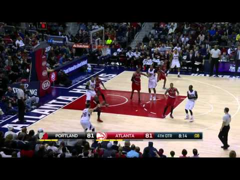 Portland Trail Blazers vs Atlanta Hawks | January 30, 2015 | NBA 2014-15 Season