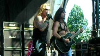 Steel Panther - Girl from Oklahoma (Merriweather Post Pavillion, 053009) M3 Rock Festival
