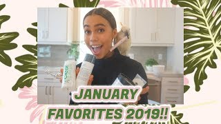 JANUARY FAVORITES 2019||  Asia Monet