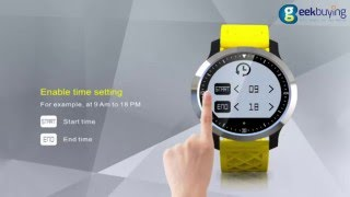 makibes f69 smart sports watch function