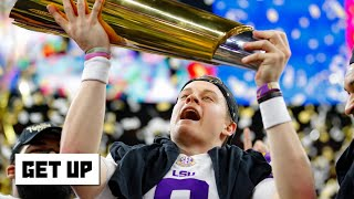 Joe Burrow is the most interesting man in college football - Laura Rutledge | Get Up