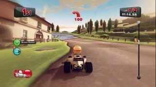 F1 Race Stars Gameplay (PC) - Belgium, Italy, Brazil, Monaco, Abu Dhabi, Singapore & USA