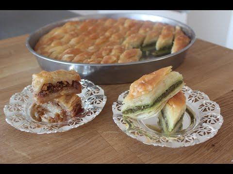 Baklava selbst gemacht / Rezept / türkische Süßspeise