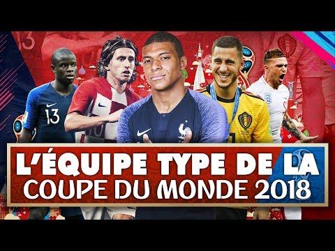 L'ÉQUIPE TYPE DE LA COUPE DU MONDE 2018?!