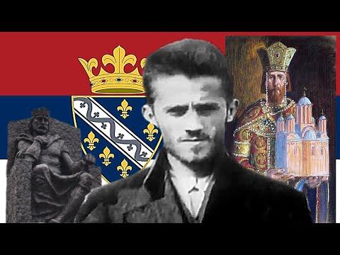 Сербская песня - Гаврила Принцип - Никогда не раб! (Гаврило Принцип - Никад робом!)