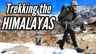 HIKING INTO THE SKY | Trekking The Nepal Himalayas