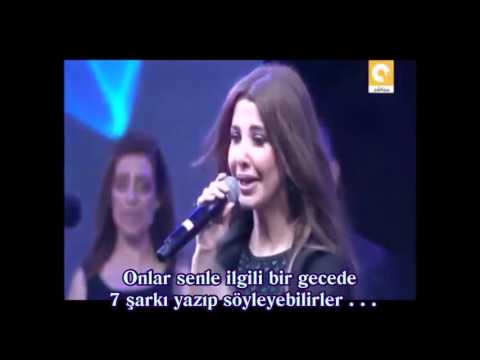 Nancy Ajram 3ala Min Türkçe Altyazılı Turkish Sub.