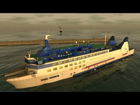 European Ship Simulator: They actually let me in a passenger